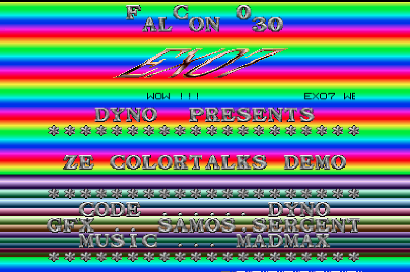 Ze Colortalks Demo