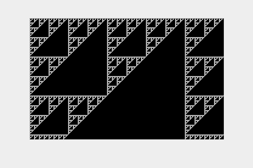 32B Sierpinski Triangles
